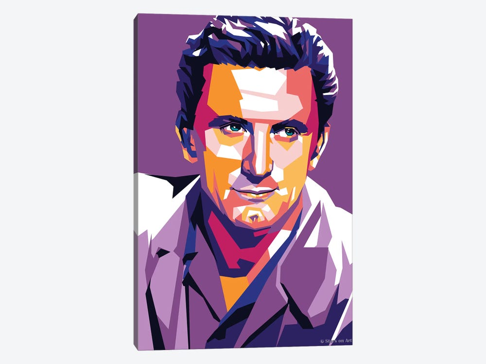 Kirk Douglas by Stars On Art 1-piece Art Print