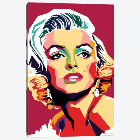 Marilyn Monroe VI 3-Piece Canvas #SRT86} by Stars On Art Canvas Artwork