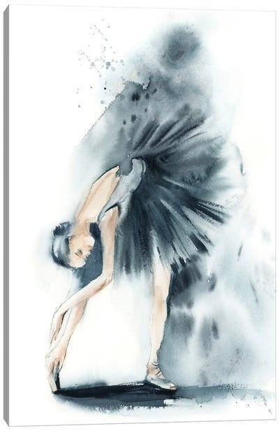 Ballet In Nordic Blue II Canvas Art Print