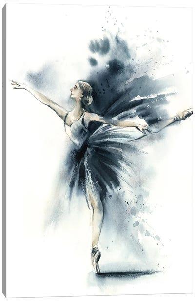 Ballet Ballet In Nordic Blue VIIn Nordic Blue VIII Canvas Art Print