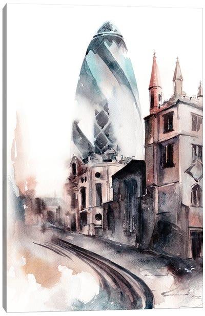 30 St Mary Axe London Canvas Art Print