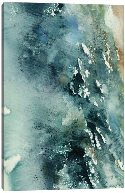 Abstract Sea I Canvas Art Print