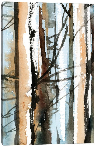 Birch Forest II Canvas Art Print