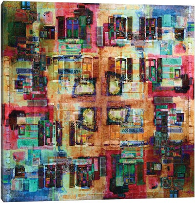Annecy 4 Canvas Art Print
