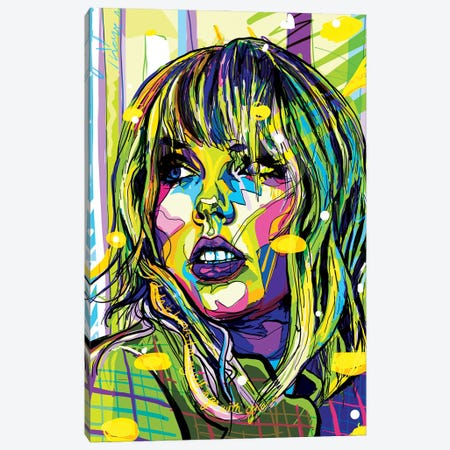 Taylor Swift Canvas Print #SSD15} by Only Steph Creations Canvas Art