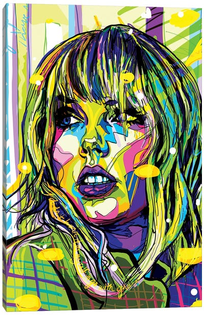Taylor Swift Canvas Art Print