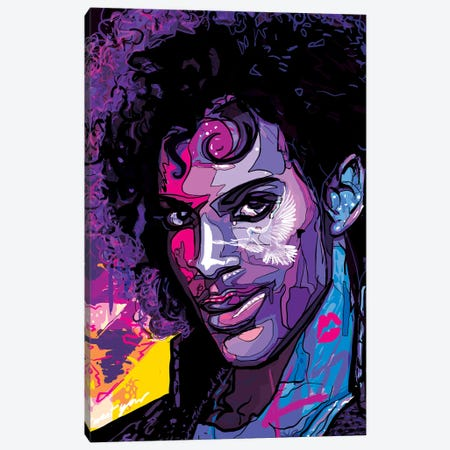 Prince Canvas Print #SSD18} by Only Steph Creations Canvas Print