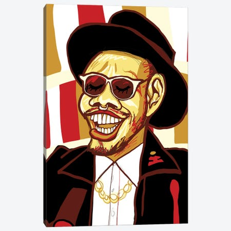 Anderson .Paak Canvas Print #SSD1} by Only Steph Creations Canvas Print