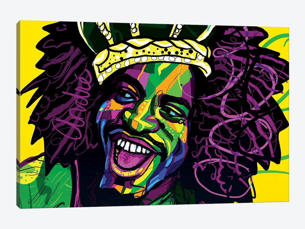André 3000 by Only Steph Creations 1-piece Canvas Artwork