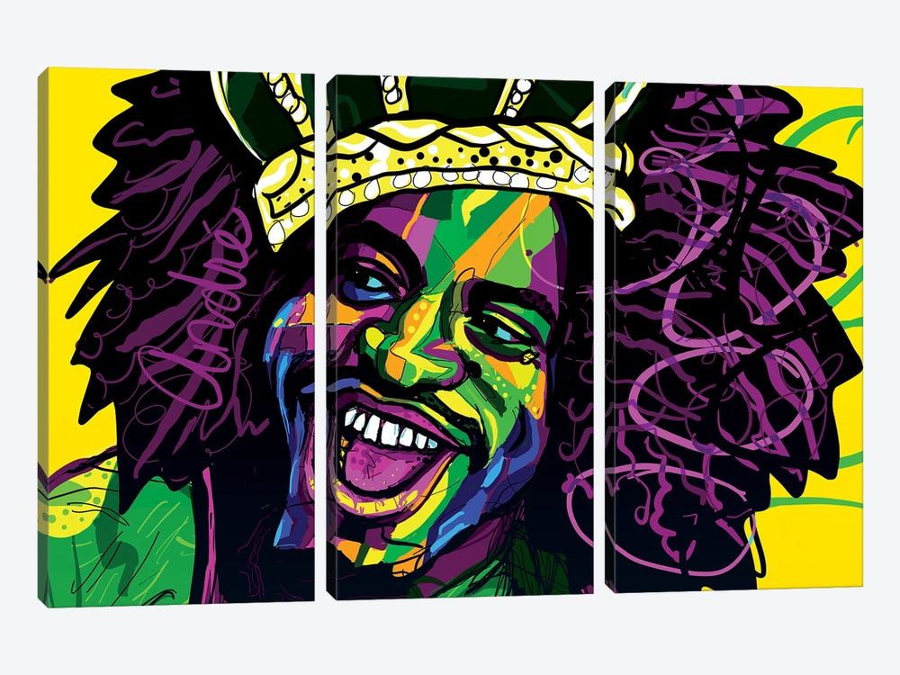 André 3000 by Only Steph Creations 3-piece Canvas Art