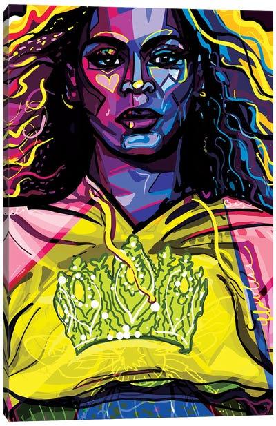 Beyoncé Canvas Art Print