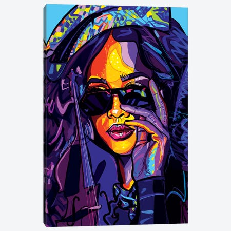 H.E.R. Canvas Print #SSD7} by Only Steph Creations Canvas Wall Art