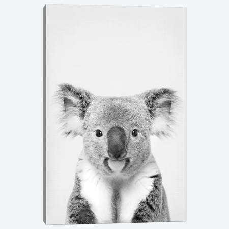 Koala Canvas Print #SSE103} by Sisi & Seb Canvas Art Print
