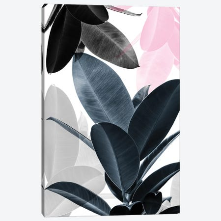 Leaf Play Canvas Print #SSE104} by Sisi & Seb Canvas Art