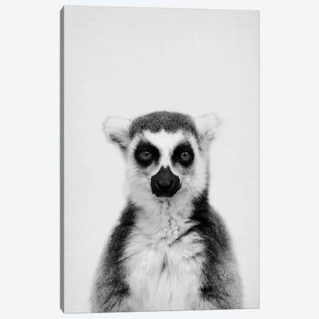 Lemur Canvas Print #SSE105} by Sisi & Seb Canvas Artwork