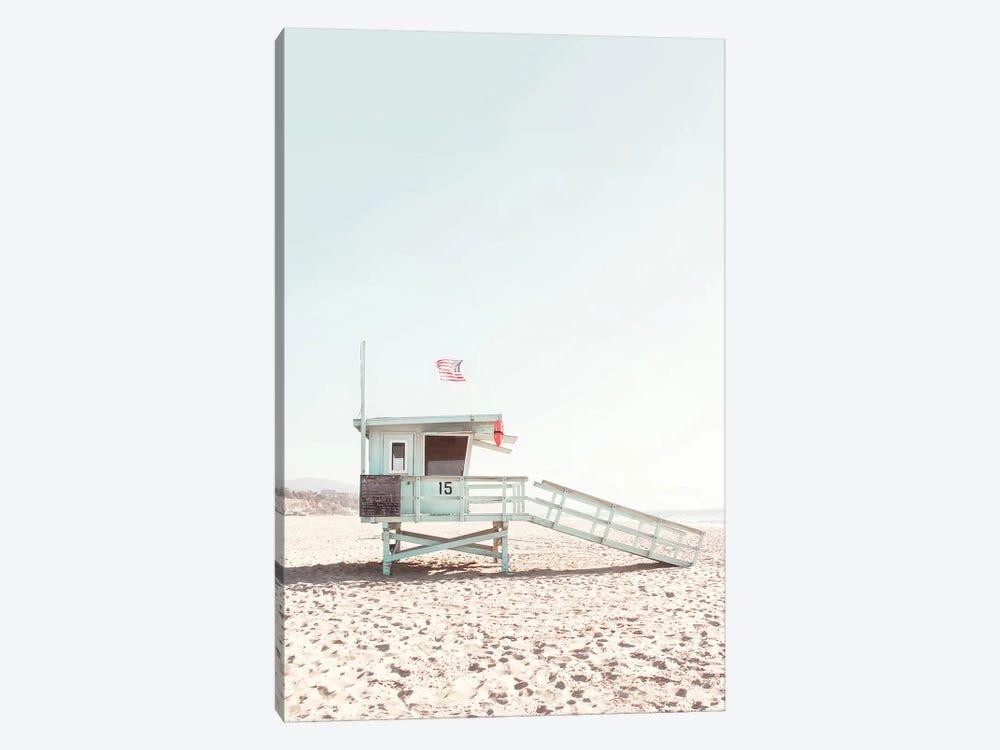Lifeguard Hut by Sisi & Seb 1-piece Art Print