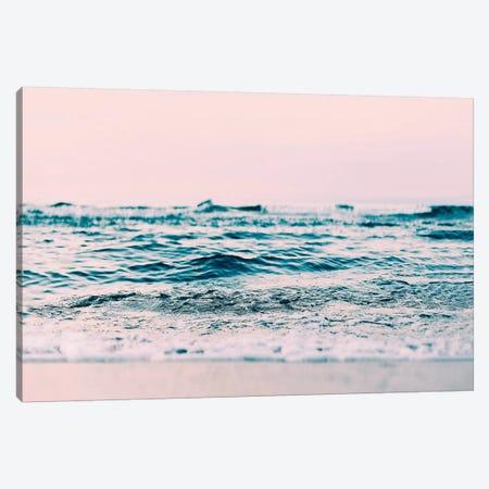 Ocean Wave Blush Canvas Print #SSE130} by Sisi & Seb Canvas Art