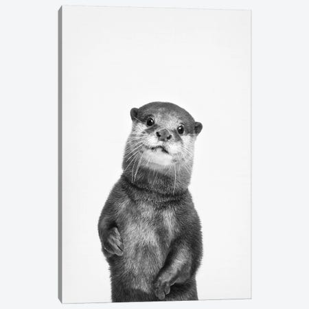 Otter Canvas Print #SSE132} by Sisi & Seb Canvas Wall Art
