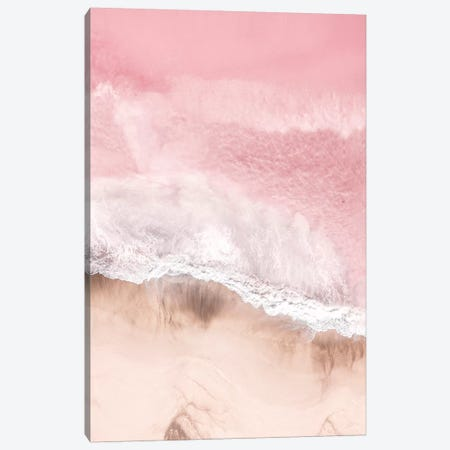 Pink Sea Canvas Print #SSE171} by Sisi & Seb Canvas Wall Art