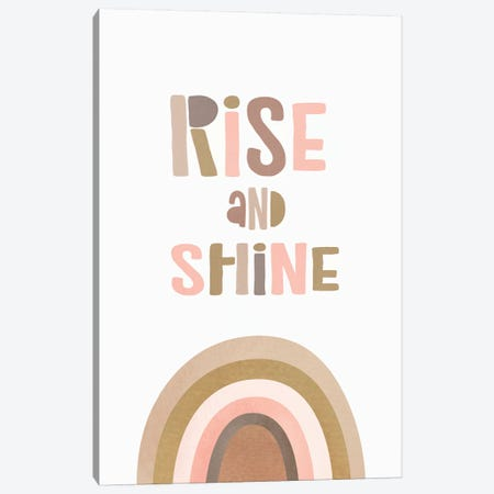 Rise & Shine Canvas Print #SSE180} by Sisi & Seb Canvas Art Print