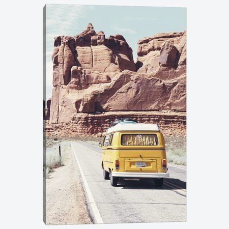 Road Trip Canvas Print #SSE181} by Sisi & Seb Canvas Art Print