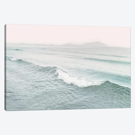 Sea Wave Canvas Print #SSE187} by Sisi & Seb Canvas Artwork