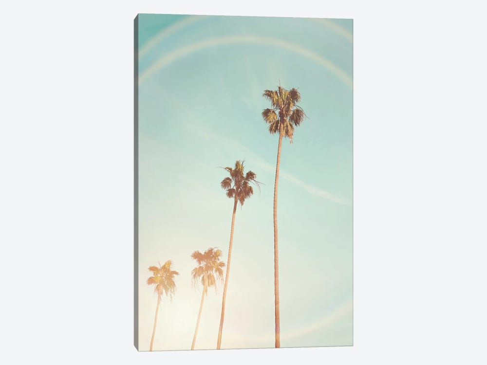 Sunny Palm Trees by Sisi & Seb 1-piece Canvas Art