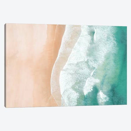 Aerial Sea Canvas Print #SSE1} by Sisi & Seb Canvas Wall Art