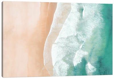 Aerial Sea Canvas Art Print