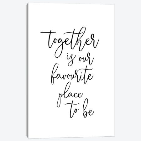 Together Canvas Print #SSE200} by Sisi & Seb Canvas Artwork