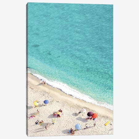 Vacation Canvas Print #SSE206} by Sisi & Seb Art Print