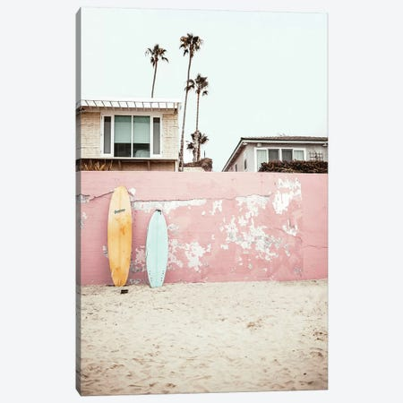 Vacay Canvas Print #SSE207} by Sisi & Seb Art Print