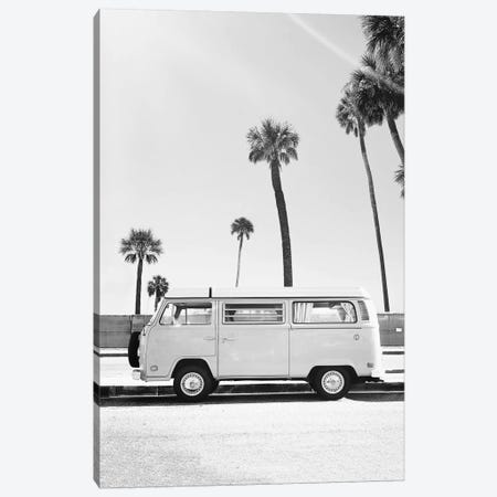 Van In Black & White Canvas Print #SSE208} by Sisi & Seb Canvas Wall Art