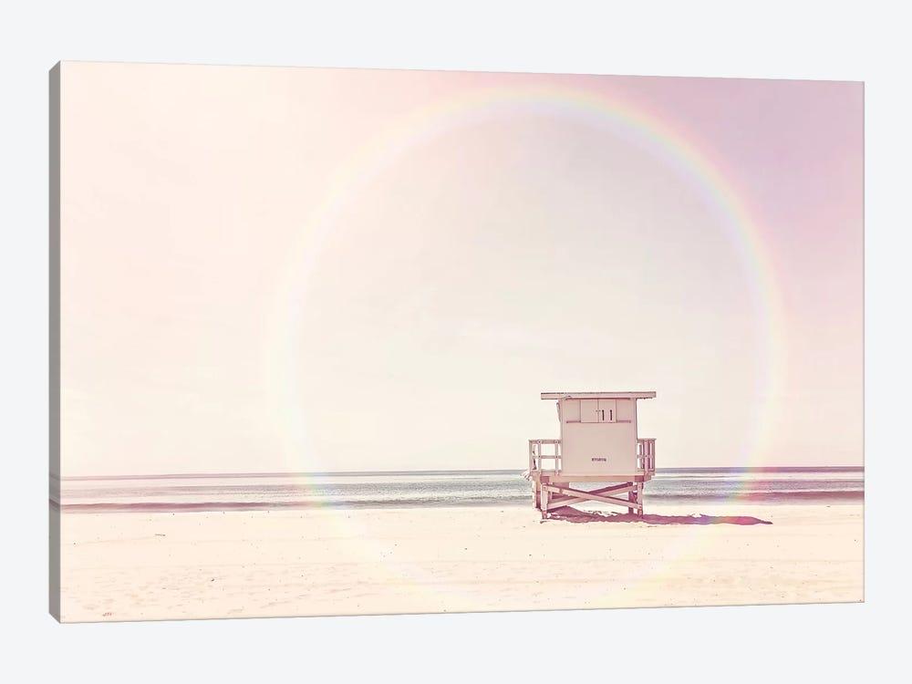 Beach Hut by Sisi & Seb 1-piece Canvas Artwork