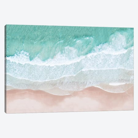 Aerial Sea View Canvas Print #SSE2} by Sisi & Seb Canvas Art