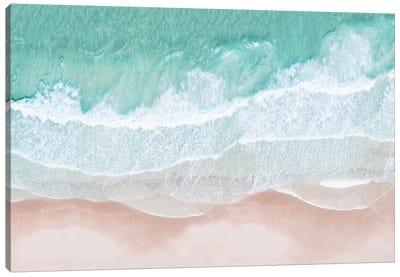 Aerial Sea View Canvas Art Print