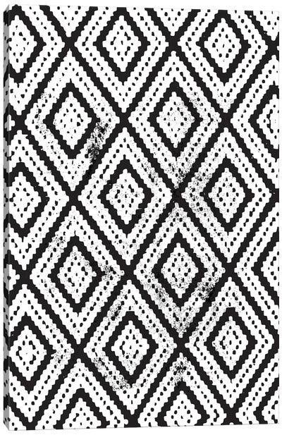 Boho Pattern Canvas Art Print