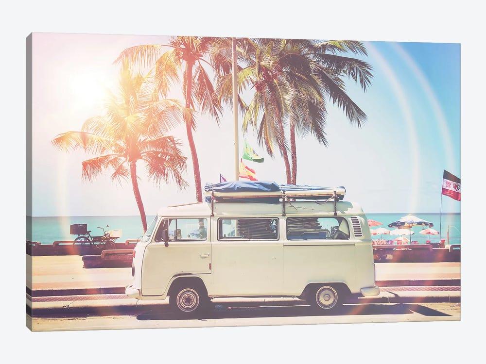 Camper Van by Sisi & Seb 1-piece Canvas Print