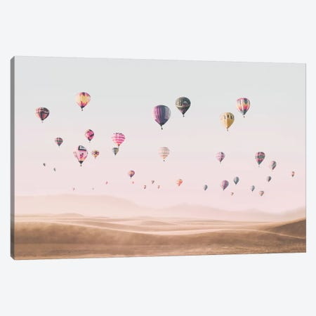 Air Balloons  Canvas Print #SSE5} by Sisi & Seb Canvas Art Print
