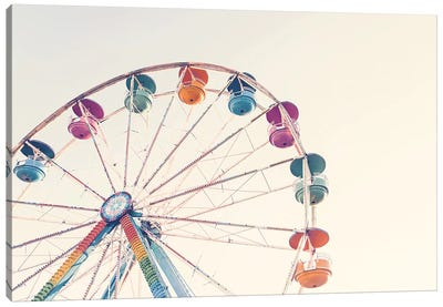 Ferris Wheel Canvas Art Print