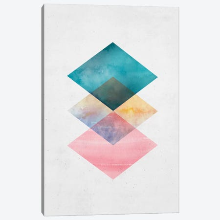 Floating Geo Canvas Print #SSE72} by Sisi & Seb Canvas Art