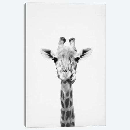 Giraffe Canvas Print #SSE75} by Sisi & Seb Canvas Art Print