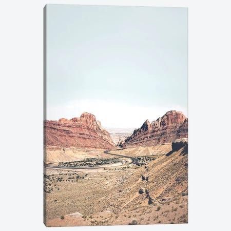 Arizona Road Canvas Print #SSE7} by Sisi & Seb Canvas Print