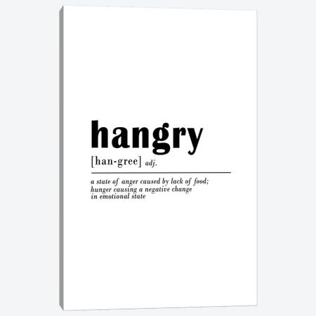 Hangry Canvas Print #SSE80} by Sisi & Seb Canvas Art Print