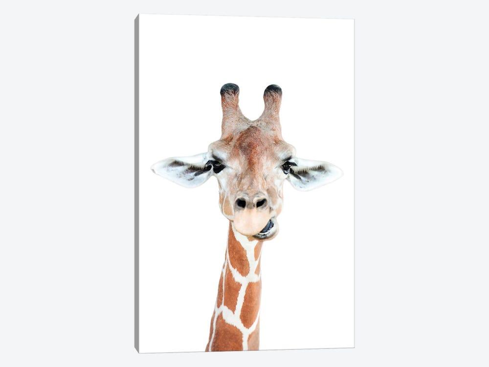 Happy Giraffe by Sisi & Seb 1-piece Canvas Print