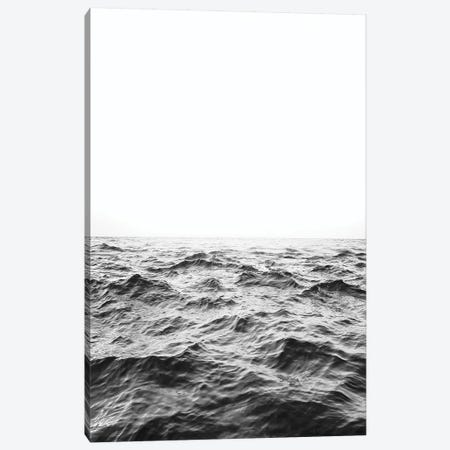Horizon In Black & White 3-Piece Canvas #SSE90} by Sisi & Seb Canvas Wall Art