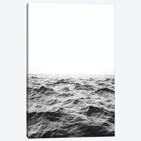 Horizon In Black & White Canvas Print #SSE90} by Sisi & Seb Canvas Wall Art