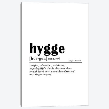 Hygge Canvas Print #SSE94} by Sisi & Seb Art Print
