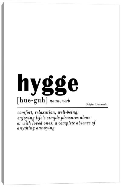Hygge Canvas Art Print