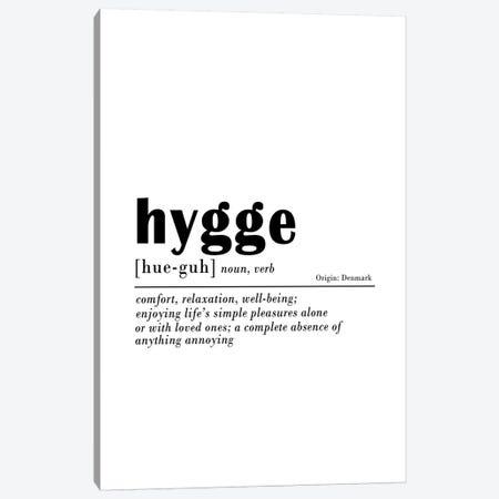 Hygge Canvas Print #SSE94} by Sisi & Seb Art Print